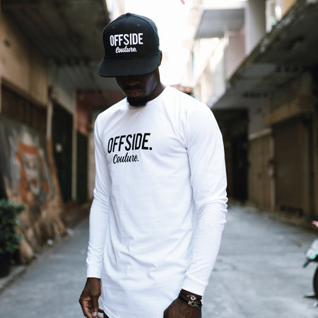 OFFSIDE COUTURE Long sleeve White