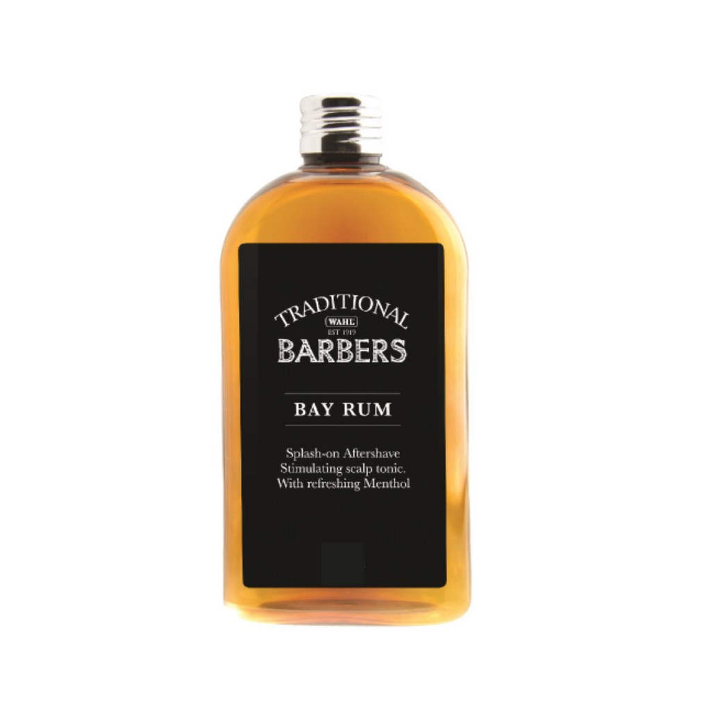 Bay Rum. Aftershave Scalp Tonic. Wahl Traditional Barber's