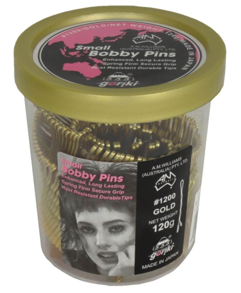 Bobby Pins. Gold 1.5in 120g