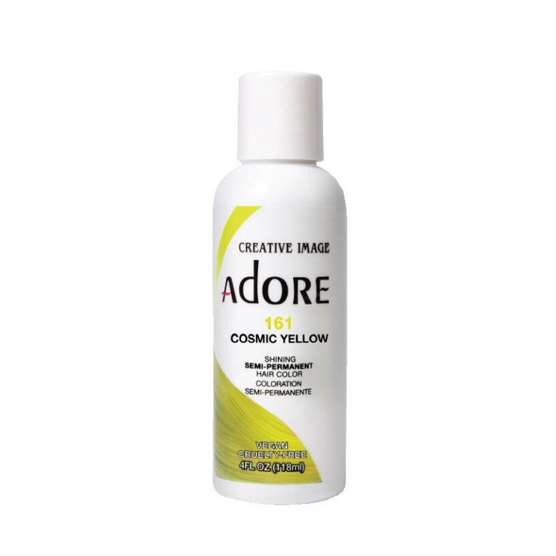 NEW! Cosmic Yellow Adore Semi Perm Hair Color 161