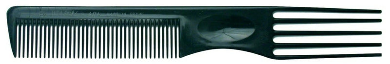 Euro Comb With Plastic Lifters Black