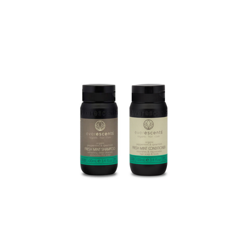 EverEscents Fresh Mint Shampoo & Conditioner Pack