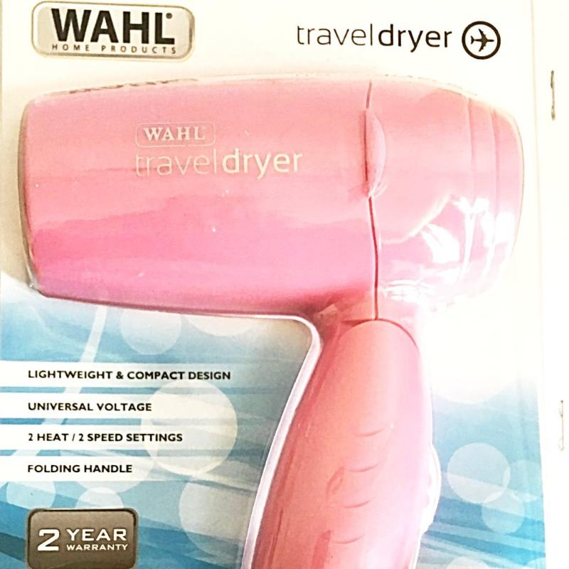 Travel Hair Dryer. WAHL