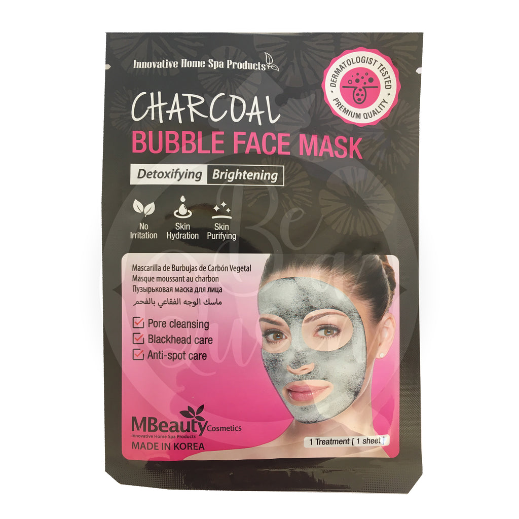 Charcoal Bubble Face Mask