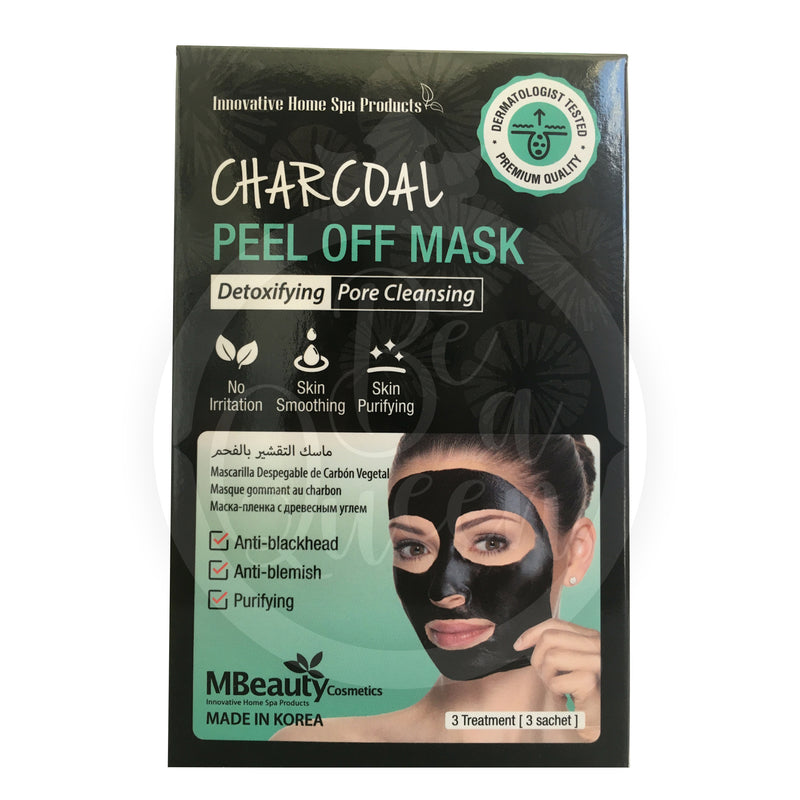 Charcoal Peel Off Mask 3 Sachets