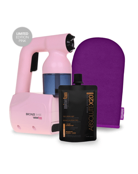 Bronze Babe Spray Tan Pink MineTan