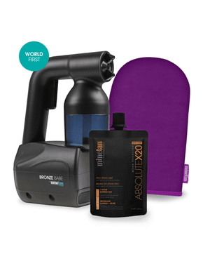 Bronze Babe Spraytan Kit Black
