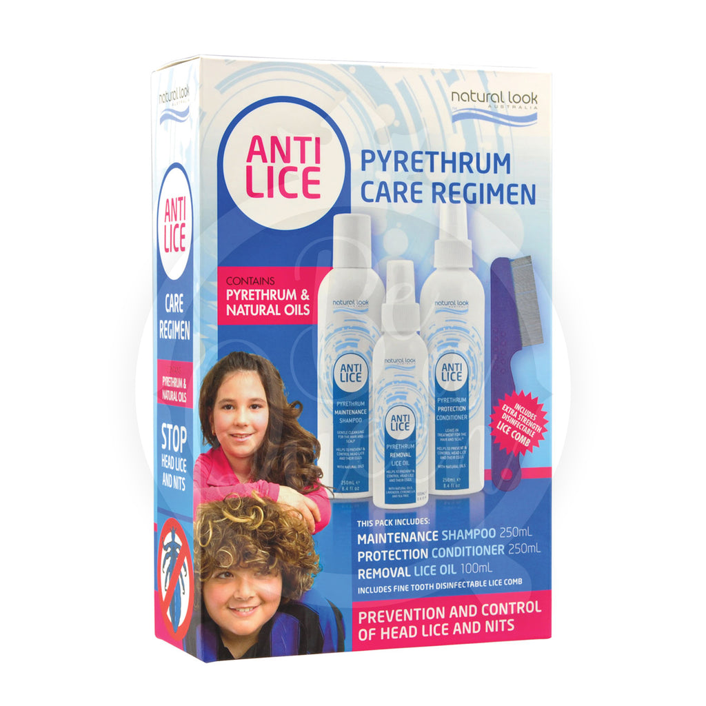 Anti Lice Regimen Pack