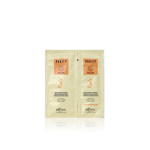 Purify Reale Shampoo & Conditioner Sachets