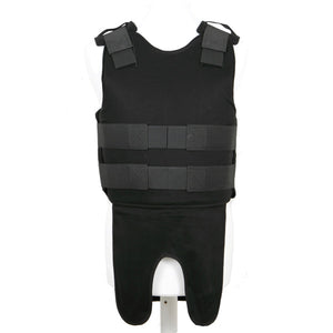 Military Bulletproof level 3A soft body armor Lightweight Concealable