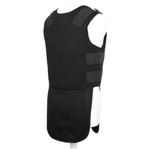 Military Bulletproof level 3A soft body armor Concealable