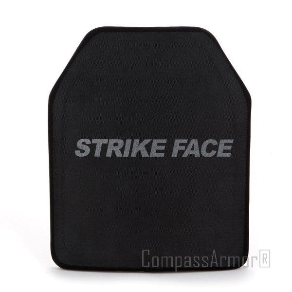 STA Single Curve Hard Armor Vest Plates UHMWPE 10X12 Inches Level III