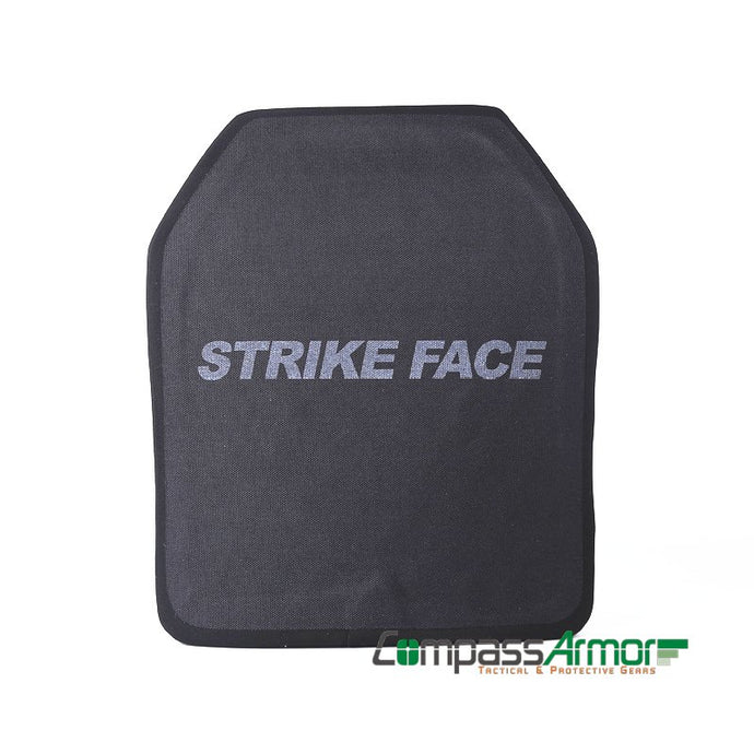 Lvl IV multi curve ICW Ballistic Armor Plates UHMWPE 11x14 inches