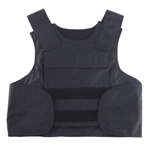 Kevlar Body Armor Vest with Extra Plate pockets