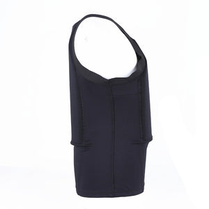 Thin Bullet Proof Vest T shirt Concealable Kevlar Body Armor