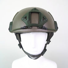 Kevlar FAST Tactical Ballistic Helmet Tan color