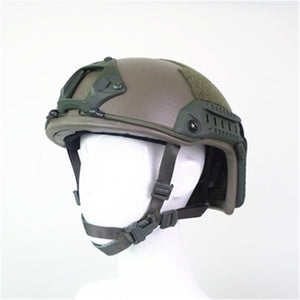 UHMWPE FAST Bulletproof Helmet High Cut NIJ Level IIIA