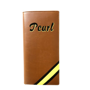 Personalised Executive Travel Wallet - Tan Brown | TLW
