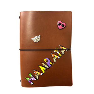 Personalised Executive Diary - Tan Brown - The Leather Works