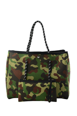 SOLD OUT - Neoprene Totebag - Camouflage (Limited Edition)
