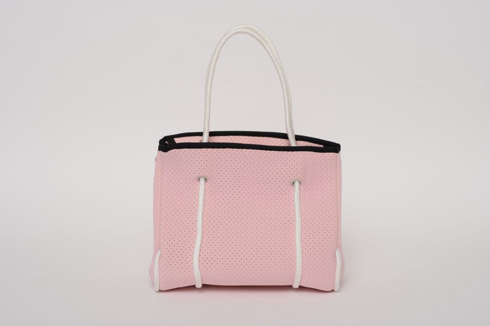 FREQUENCY PINK NEOPRENE TOTEBAG