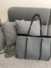 Ash Grey Tote Bag