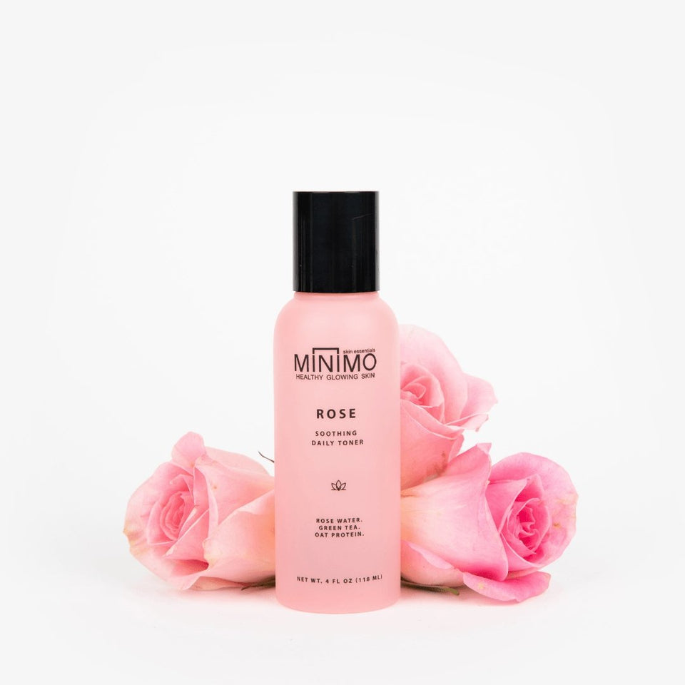 Rose Soothing Flare Control Toner - Minimo Skin Essentials