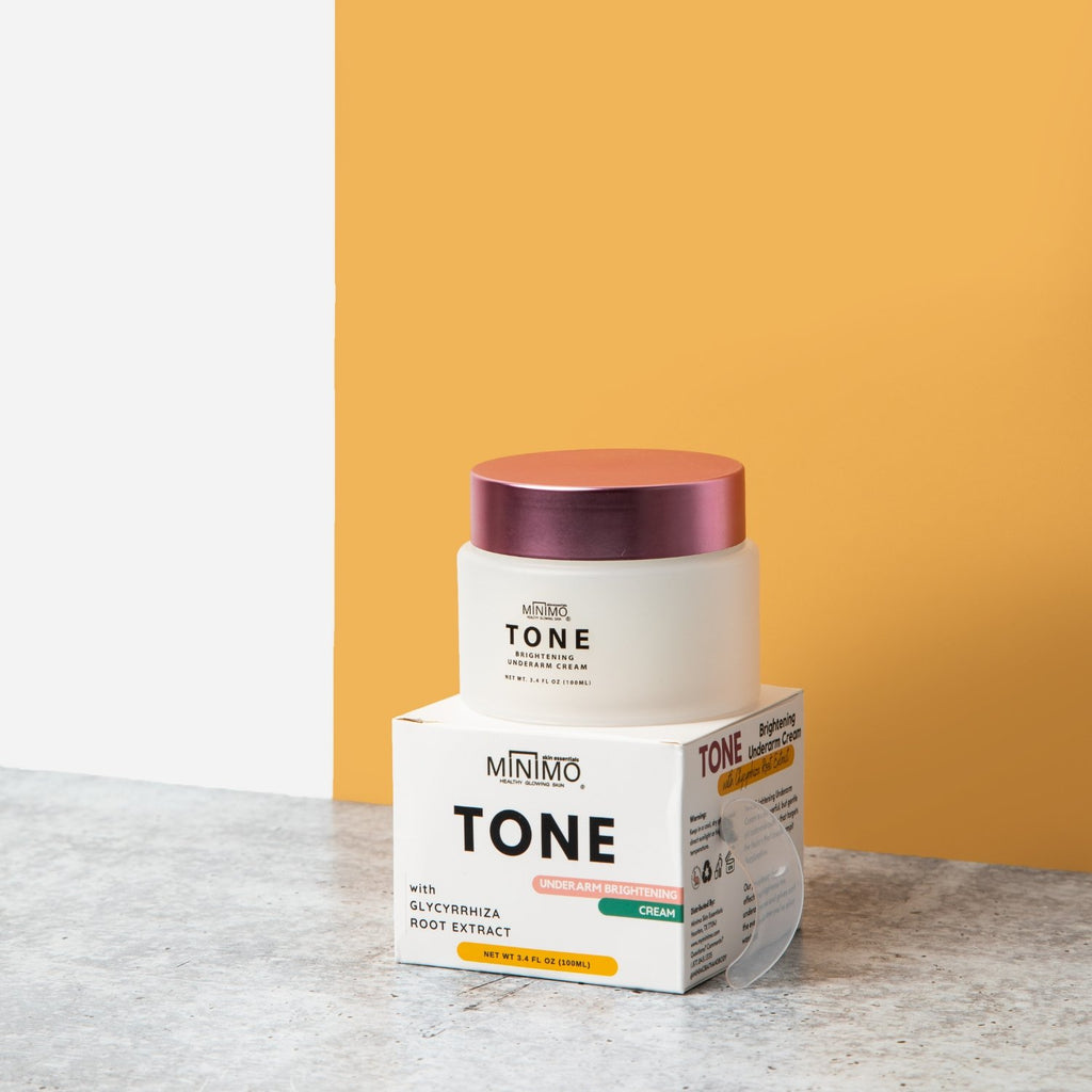 Tone Brightening Underarm Cream - Minimo Skin Essentials