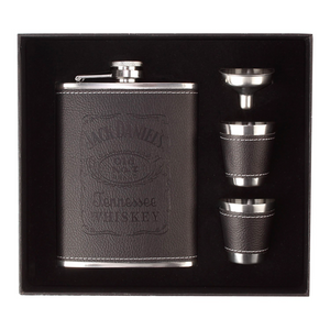 Jack Daniels Gift Set with Cups and Funnel (6 Oz.)[Variant_title] - FlaskMasters