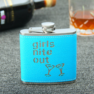 Girls Nite Out Flask (6 Oz.)[Variant_title] - FlaskMasters