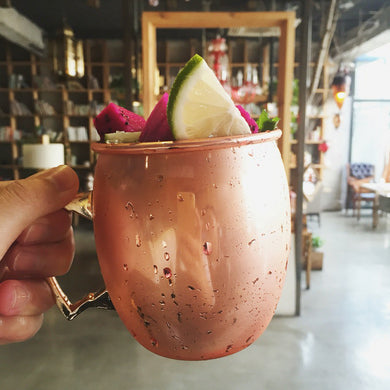 Copper Plated Moscow Mule Cup (Dimpled or Mirror)[Variant_title] - FlaskMasters