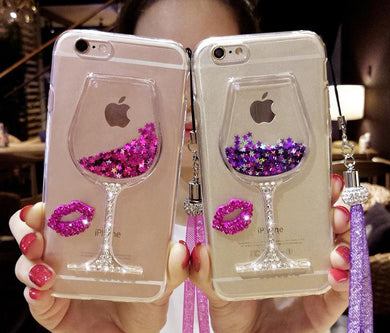 Bling Wine Case for all iPhones 6, 6s, 7 models (including Plus)[Variant_title] - FlaskMasters