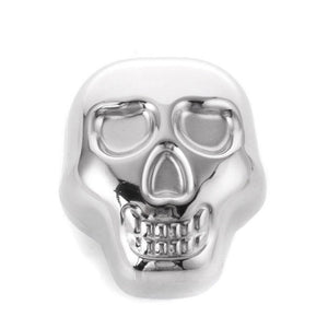 Stainless Steel Skull Shaped Whisky Stone[Variant_title] - FlaskMasters