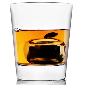 Stainless Steel Large Apple Whisky Stone[Variant_title] - FlaskMasters