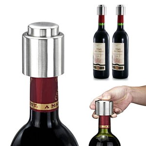 Stainless Steel Wine Stopper[Variant_title] - FlaskMasters