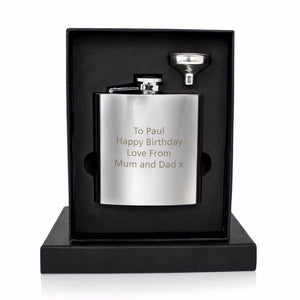 Personalized Engraved Flask (6 Oz.)[Variant_title] - FlaskMasters