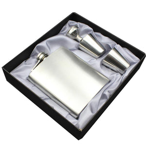 Classic Flask Gift Set with Cups and Funnel (7 Oz.)[Variant_title] - FlaskMasters