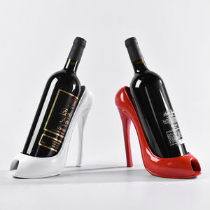 High Heel Wine Rack Holder (Red, Black, Gold or White)[Variant_title] - FlaskMasters