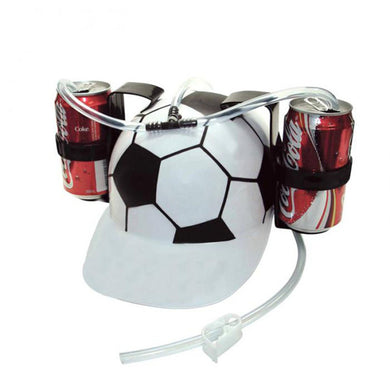 Two Can Holder Drinking Hat with Single Straw (10 Colours)[Variant_title] - FlaskMasters