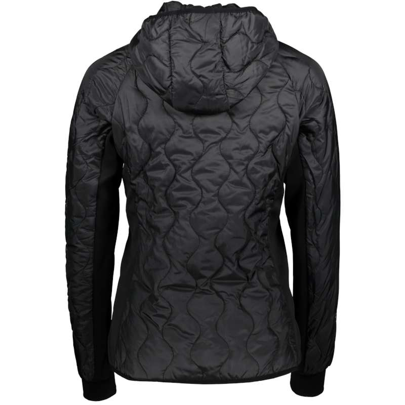 Mey W hooded hybrid jacket