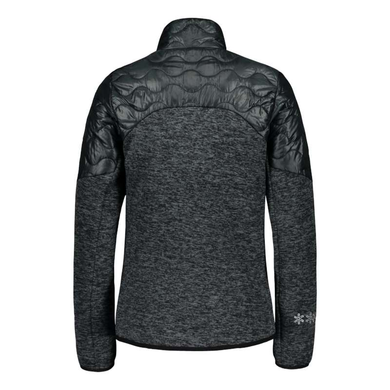 Ollons W hybrid knit fleece jacket
