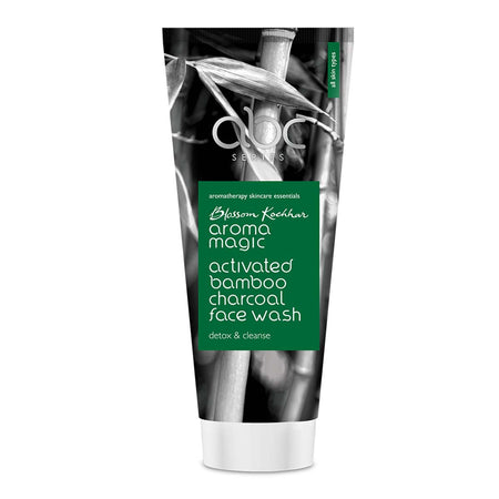 Aroma Magic Activated Bamboo Charcoal Face Wash - Aroma Magic