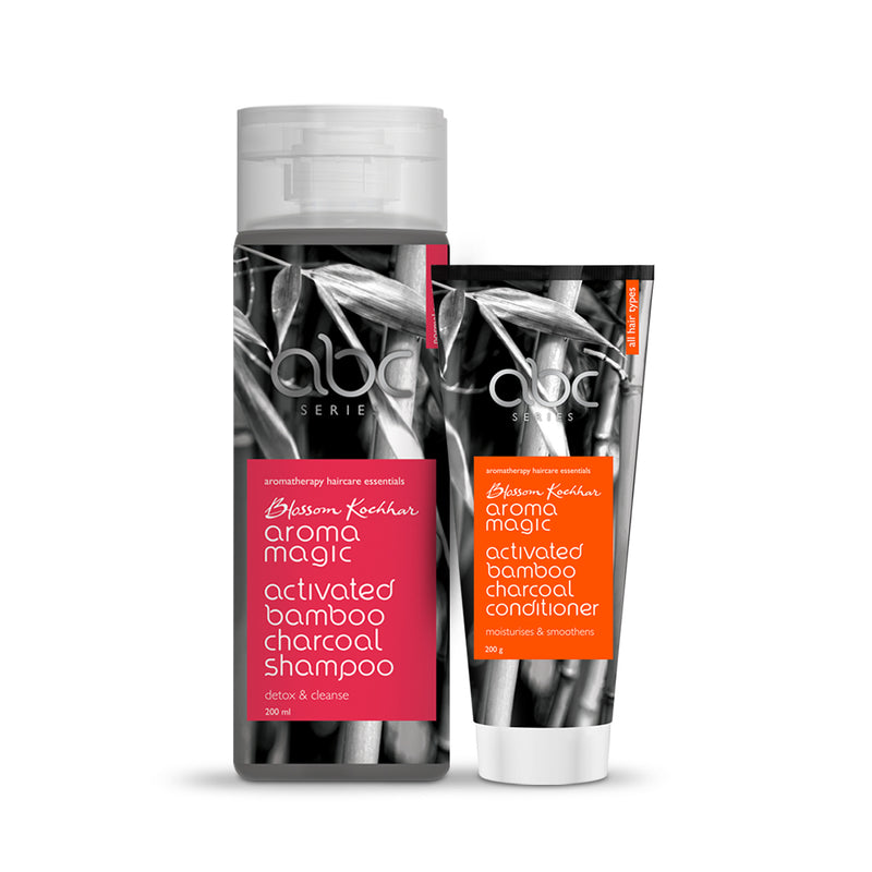 Charcoal Shampoo & Conditioner Combo (4366164918349)