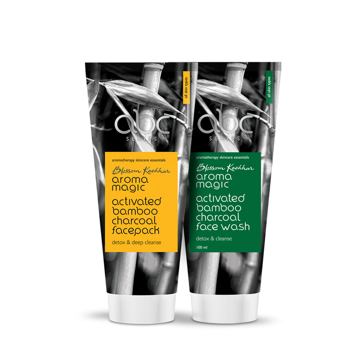 Charcoal Face Wash & Face Pack Combo (4366158102605)