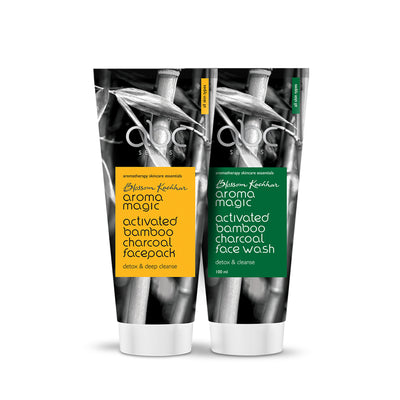 Charcoal Face Wash & Face Pack Combo