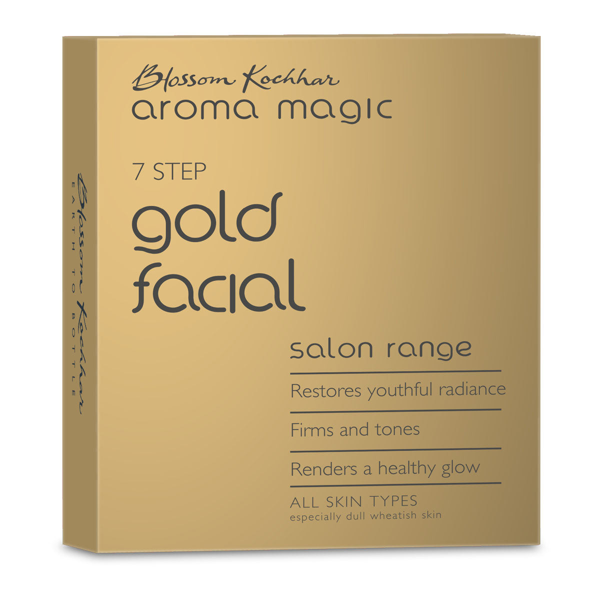 Gold Facial Kit - Single Use (4763500642381)