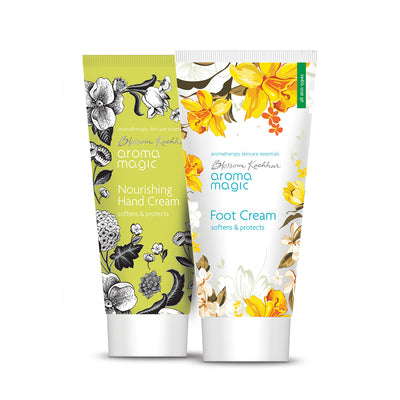 Nourishing Hand Cream and Foot Cream Combo