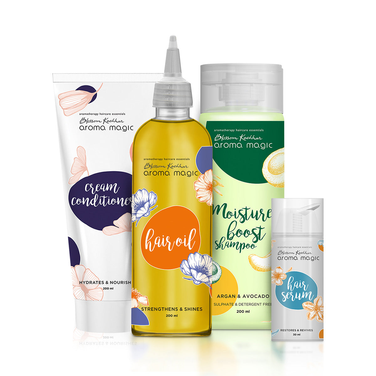 Dry & Damaged Hair Care Regime