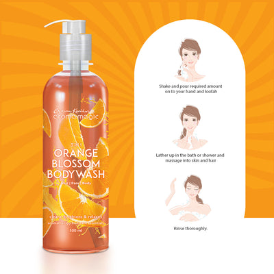 3 in 1 Orange Blossom Body Wash