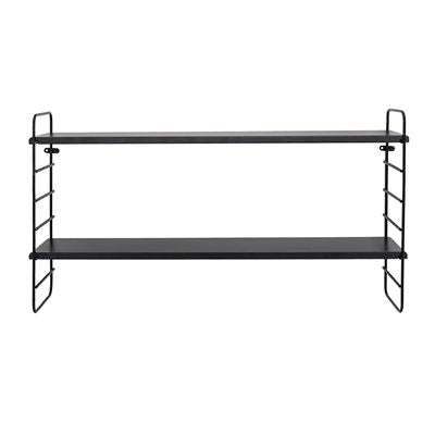 North Shelf, Black, MDF - Frenchbazaar -Bloomingville